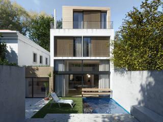 Moradia Oeiras Casas modernas por Maqet Moderno