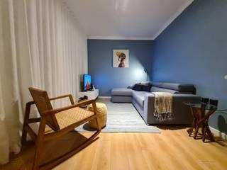 Alma Braguesa Furniture Soggiorno eclettico MDF Blu