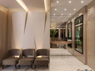 Estudios y despachos modernos de Camila Pimenta | Arquitetura + Interiores Moderno
