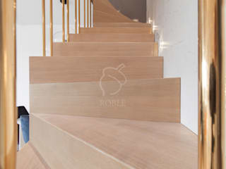 Roble Escaleras Madera