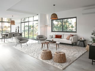 Staging Factory Salones de estilo moderno