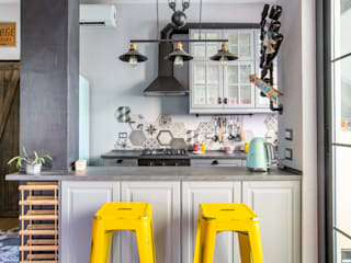 Facile Ristrutturare Industrial style kitchen
