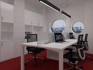 4Ponto7 Study/officeStorage Iron/Steel White