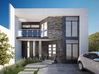 โดย ALCOTÁN Arquitectos โมเดิร์น