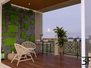 My Home Bhooja 3F Architects Balcony