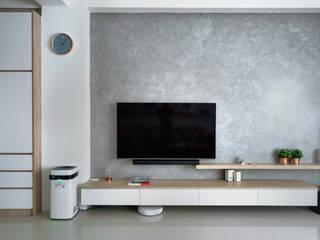 虎尾-禾楓君悅A8 大漢創研室內裝修設計有限公司 客廳
