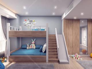 ÇOCUK ODASI İNCİ YANARDAĞ İÇMİMARLIK Modern Çocuk Odası