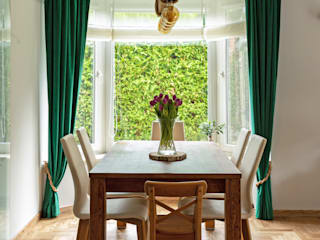 IDEALS . Marta Jaślan Interiors Country style dining room