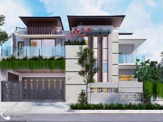 VECTOR41 Minimalistische Häuser