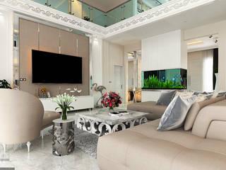 VECTOR41 Klassische Wohnzimmer Bernstein/Gold