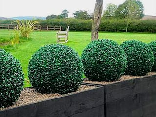 Create Little Green Space with Artificial Topiary Balls Sunwing Industries Ltd Tropikal