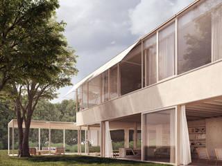 Plantea Estudio Окремий будинок
