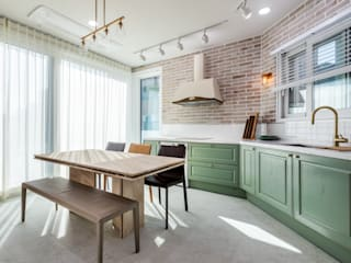 한글주택(주) Scandinavian style kitchen