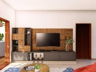 modern  by Sandarbh Design Studio, Modern