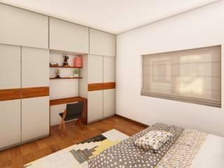 Modern style bedroom by Sandarbh Design Studio Modern