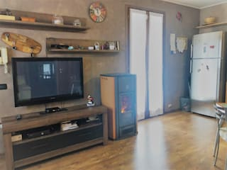 Moderne woonkamers van Agenzia Studio Quinto Modern