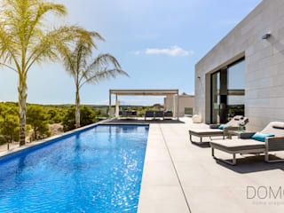 Villa de lujo Domo Home Staging Piscinas naturales Piedra Azul