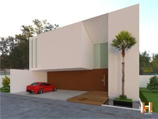 Minimalist house by HHRG ARQUITECTOS Minimalist