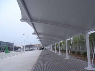 Tenda membrane shelter parkir NUSA CANOPY
