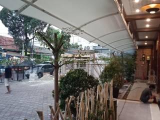 Kanopi membrane cafe di ciputat tangerang selatan NUSA CANOPY