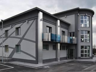 Ingegnere Salvatore Fabio de Vita Bangunan Kantor Modern Ubin Grey