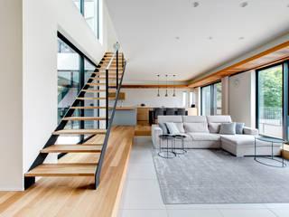 Salones modernos de TERAJIMA ARCHITECTS Moderno