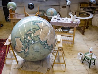 The Churchill Globe par Bellerby and Co Globemakers Classique