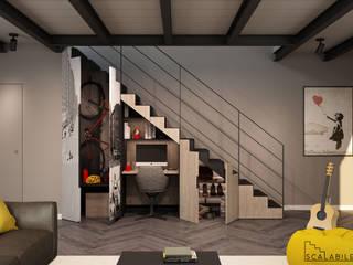 Scalabile - Home office:  in stile industriale di PMscale, Industrial
