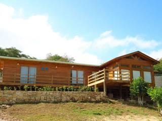 Casas y cabañas de Madera -GRUPO CONSTRUCTOR RIO DORADO (MRD-TADPYC) Wooden houses