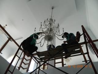 cuci lampu kristal 021-88354281 Oleh cv indah karya bersaudara Klasik