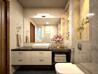 Monnaie Interiors Pvt Ltd BathroomDecoration Wood Wood effect