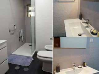 Home 'N Joy Remodelações Baños de estilo moderno