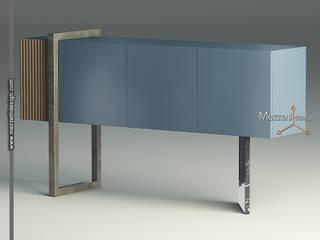 Mezzettidesign Living roomStorage Blue