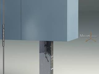 Mezzettidesign Living roomStorage Marble Black