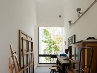 タカヤマ建築事務所 Minimalst style study/office