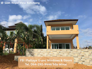 โรงงาน พัทยา กระจก ยูพีวีซี Pattaya UPVC Windows & Doors Вікна & Дверi Windows Білий