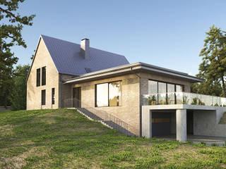 Дом на холме. Архитектурное бюро Киев บ้านและที่อยู่อาศัย