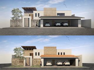 Cervantes Bueno arquitectura Rumah tinggal Kayu Wood effect