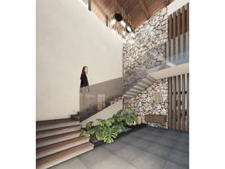 Cervantes Bueno arquitectura Tangga Batu Wood effect