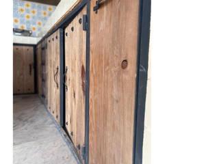 Cervantes Bueno arquitectura Dapur kecil Kayu Wood effect
