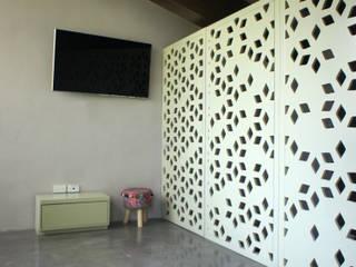 Interiores Casa La Noria Gimnasios domésticos industriales de Mona Mx Diseño Industrial