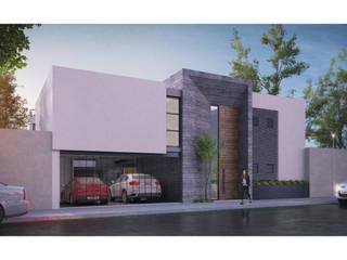Cervantes Bueno arquitectura Rumah tinggal Beton Grey