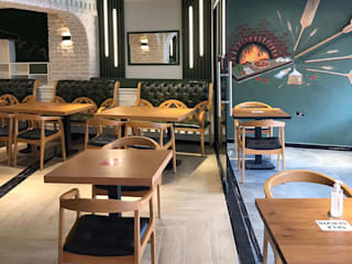 Palmiye Koçak Sandalye Masa Koltuk Mobilya Dekorasyon Restaurantes Madera Acabado en madera
