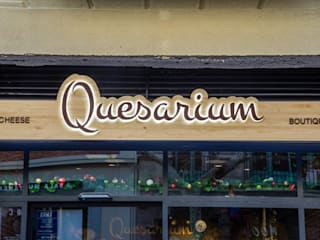 Reforma local Quesarium Vb Reformas Integrales Gastronomía de estilo rústico