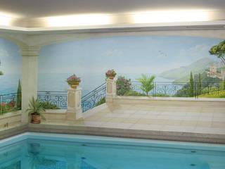 Studio Witti - Atelier für Gestaltung Mediterranean style pool