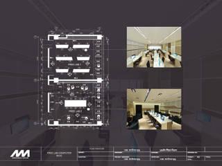 Modernize Design + Turnkey Estudios y despachos de estilo moderno Madera Marrón