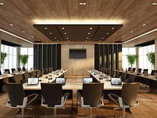 Mahidol Executive Conference Modernize Design + Turnkey ห้องทำงาน/อ่านหนังสือ ไม้ Brown