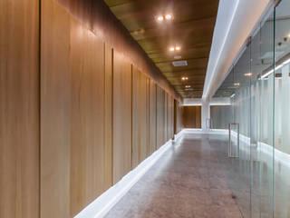 Mahidol International Office Modernize Design + Turnkey ห้องทำงาน/อ่านหนังสือ ไม้ Brown