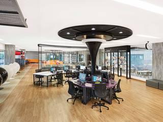 Mahidol Library Modernize Design + Turnkey ห้องทำงาน/อ่านหนังสือ แผ่น MDF Wood effect