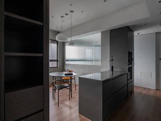 墨色之家 文儀室內裝修設計有限公司 餐廳 Black